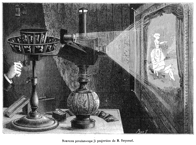 camera-Lanature1882_praxinoscope_projection_reynaud