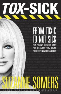 Tox-Sick Suzanne Somers Book Cover